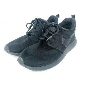 Nike Roshe One GS Black/Black 599728-031 3.5Y Boys